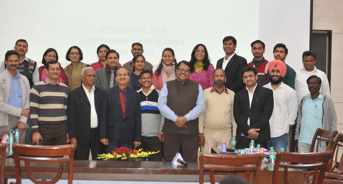 Staff of Rastriya Mahila Kosh